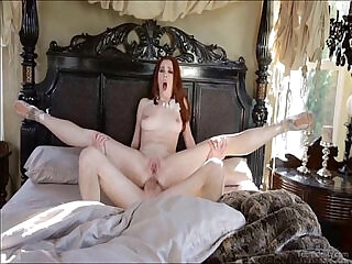 Redhead Ballerina Loves Cock Up The Ass