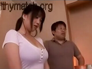 Japan sexy girl with huge tits