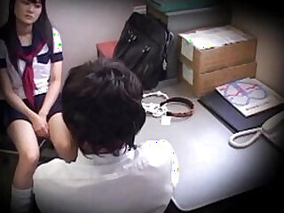 Shoplifter girls' school student