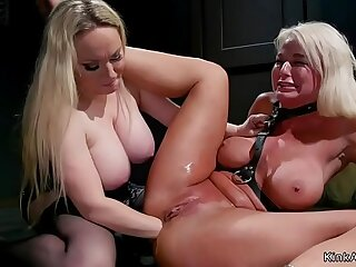 Busty mistress anal blonde Milf